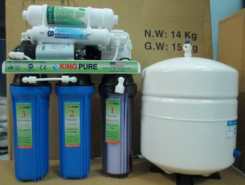 Máy lọc nước RO gia đình Kingpure 10 Lit/h- khử DI